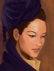 :: portrait :: woman by tristanrocks