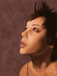 :: portrait :: clickypenpixie by tristanrocks