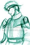 Sketch - Uzumaki Naruto by djmidori