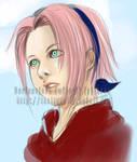 Haruno Sakura by djmidori