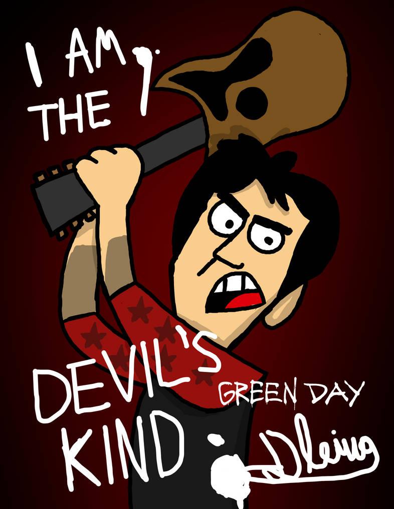 Billie Joe's Guitar Poster by RealDiegoAmateur