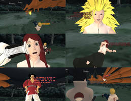 Request #335 Kushina Super Saiyan 3 activate! by MichaelJordy