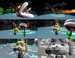 Request #2466 Piranha n Isabelle's Smash by MichaelJordy