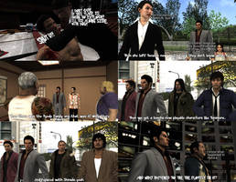 (SPOILERS) Few Yakuza left out characters by MichaelJordy