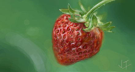 I luv Strawberry by jaye4s