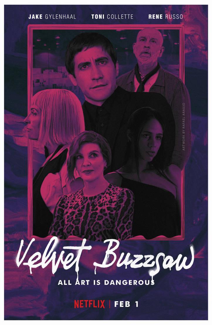 Resultado de imagem para Velvet Buzzsaw poster