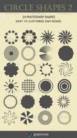 Circle Shapes 2 by sarthony