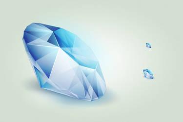 Diamond icon by hbielen