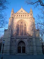 Princeton Cathedral Sundown by rlollis