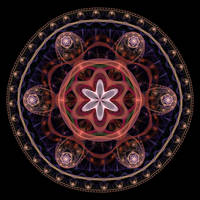 Mandala02 by amrida