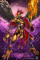Garuda Warrior by ACWart
