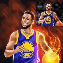 Steph Curry by ACWart