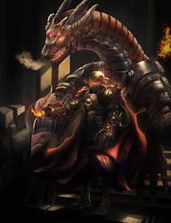 Iron Man steampunk dragon buster by ACWart