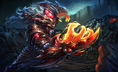 Dragonborn League of Legends by ACWart