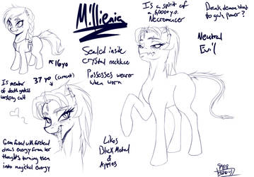 Millenia design stuff 01 by TheThunderPony