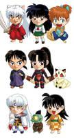 Inu Yasha Sets 1-3 by cosplayscramble