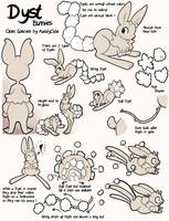 Dyst bunnies - Open Species by Kandy-Cube