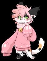 #803 Kryptox w/m - Calico Sakura cat by Kandy-Cube
