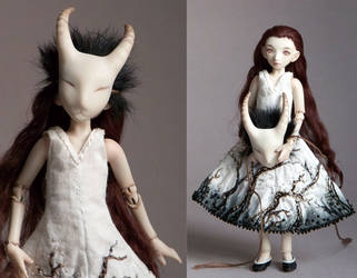 Little Goat Girl by ladymeow