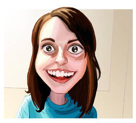 Laina Morris - Overly Attached Girlfriend by hqbrum-art