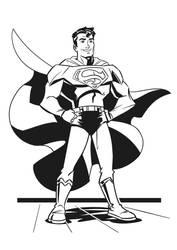 Superman by hqbrum-art