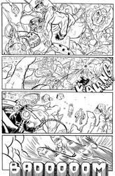 BULLET' N' CUT : page 14 by Guibz-comics