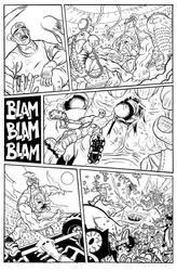 BULLET' N' CUT : page 15 by Guibz-comics