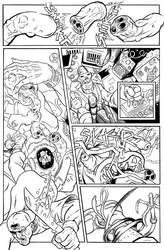 BULLET' N' CUT : page 16 by Guibz-comics