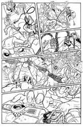 BULLET' N' CUT : page 17 by Guibz-comics