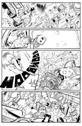 BULLET' N' CUT : page 20 by Guibz-comics