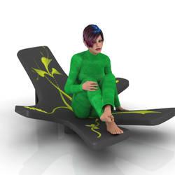 Fantasy Chair by kratzdistel