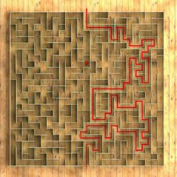 Lost in Maze by kratzdistel