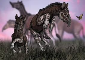 Xenorhinotherium bahiensis by paleoarqueiro