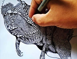 Rexy by paleoarqueiro