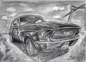 Mustang by KathyPhantomhive