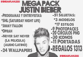 Mega Pack Justin Bieber by Dreamflawless