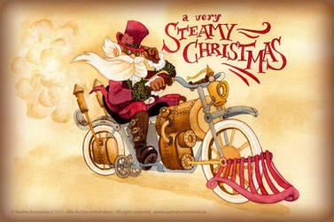 A very steamy Christmas by ladameblanche
