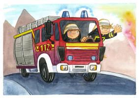 Firebrigade by ladameblanche