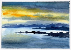 Sound of Raasay by ladameblanche