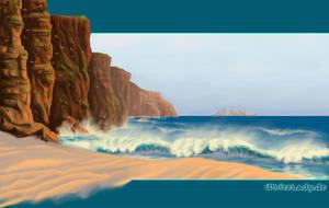 whitelady website: sea by ladameblanche