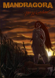 Mandragora - The Wasteland Pinup nr.1 by Nagymarci