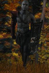 Night Warrior by hleon