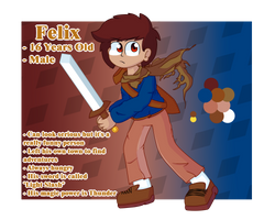 This is Felix .:Ref:. by Explosion-drawing
