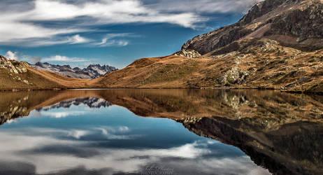 Mountain mirror... by Seb-Photos