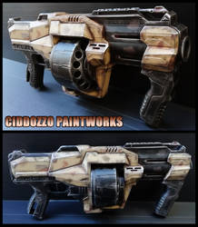 Desert Wanderer Grenade Launcher by Ciddozzo