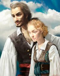 Henry and Johanna by ChristinZakh