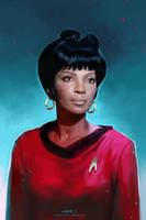Uhura by ChristinZakh