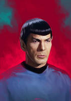 I am Spock by ChristinZakh
