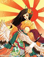 Amaterasu by FragileWhispers
