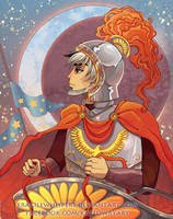 Chariot Tarot by FragileWhispers